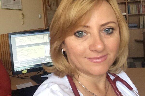 Lekárka Andrea Baníková.