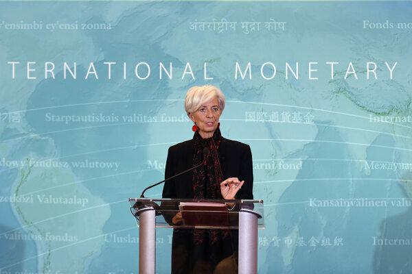 Šéfka Európskej centrálnej banky (ECB) Christine Lagardeová.