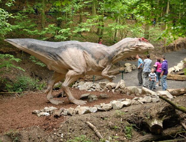 Dinopark v Košiciach, na rozdiel od Bratislavy, nekončí. Fotografia je archívna z roku 2013.