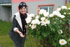 Gabriela Špalková našla svoju vášeň vpestovaní krásnych kvetov medzi panelákmi na sídlisku Košúty.