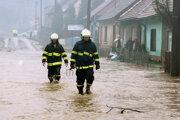 Povodeň v Neresnici na Vianoce 2009.