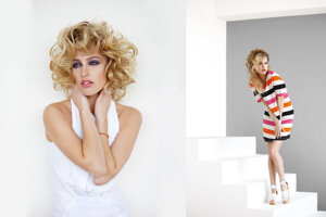 Módu fotí pre časopisy ako Harper´s Bazaar, Elle, Esquire, Red Hot, Cosmopolitan.