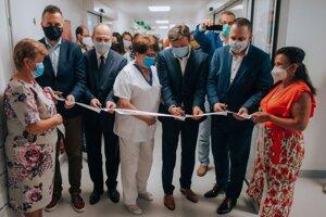 Trebišovská nemocnica má nový urgentný príjem.