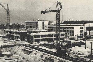 Takto sa finišovalo na objektoch školy v rokoch 1973 až 1976.