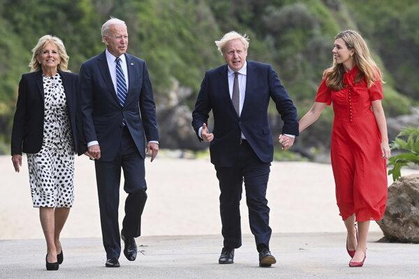Manželia sú v Cornwalle pri príležitosti samitu lídrov krajín G7