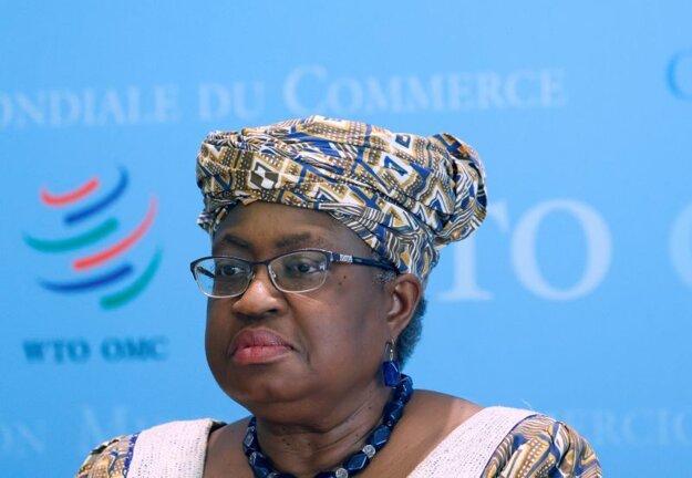 Riaditeľka Svetovej obchodnej organizácie Ngozi Okonjová-Iwealová.