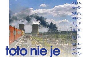 Slovenské elektrárne zverejnili na sociálnej sieti status o požiari.