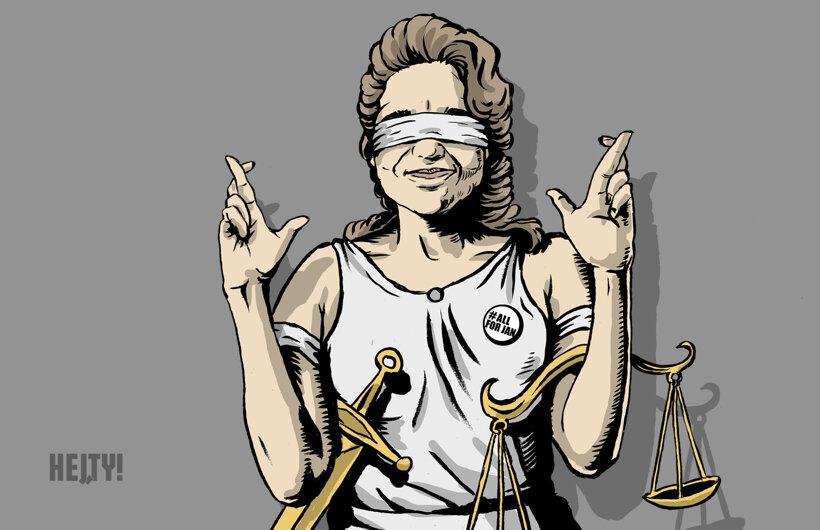 Spravodlivosť (Hej, ty!) 14. júna