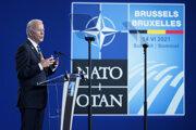 Biden počas vystúpenia na summite NATO.
