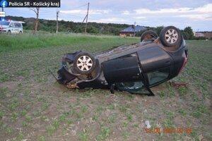 Mladý Strážan si za volant sadol opitý.