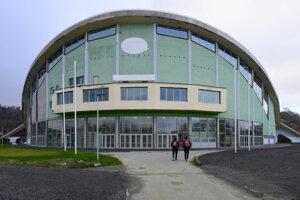 Zimný štadión v Prešove.