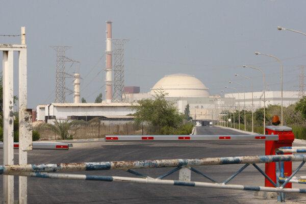 Atómová elektráreň Búšehr.