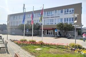Mestský úrad v Štúrove.