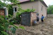 Škody na majetku sú veľké.