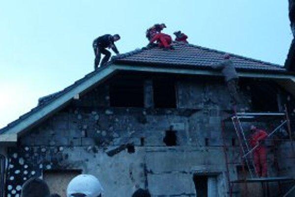 Nová strecha bola prekvapením pre rodinu.