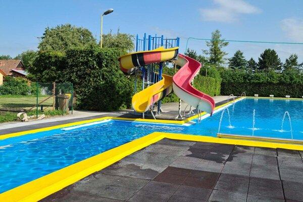 Bazény sú už pripravené.