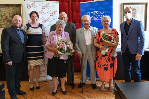 Ocenené páry v Piešťanoch