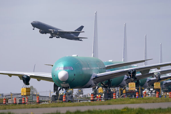 Nový Boeing 777X.