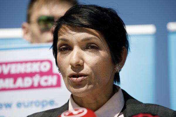 Predsedníčka PS Irena Bihariová.