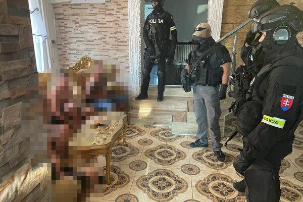Polícia zasahovala v Trebišovskom okrese.