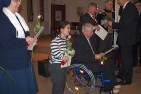 Ocenenia a ďakovné listy si prevzalo 31 dobrovoľníkov z Nitry.