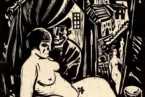 Grafika Vydrica patrí medzi predvojnové diela, na ktorých zachytil svet zbúraného bratislavského podhradia.