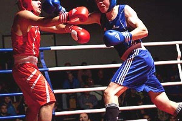 Adam Gubáň zvíťazil v zápase kategórie do 81 kg.