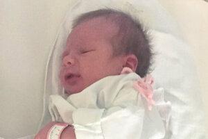 Natália Stoilová (3300 g a 53 cm) sa narodila 1. januára rodičom Simone a Petrovi z Drženíc.