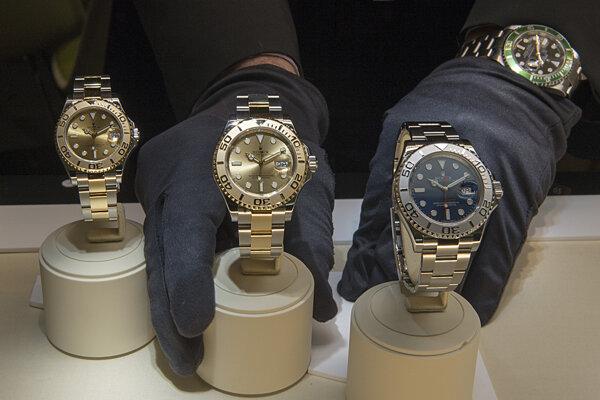 Hodinky Rolex sú jedným z najčastejších cieľov zberateľov.
