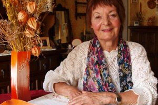 Marína Čeretková-Gállová oslávila 80 rokov.