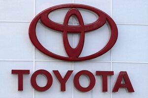 Logo značky Toyota.