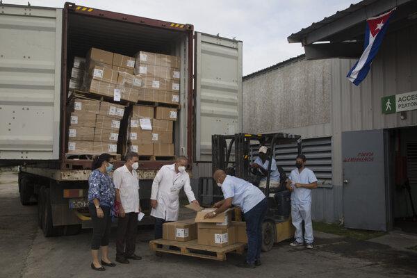 """Kuba dostala humanitárnu pomoc aj od americkej organizácie """"Friends of Cuba from the United States"""""""