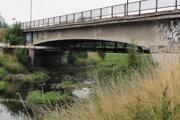 Most ponad rieku Slatina.