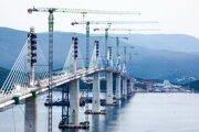 Most Pelješac.