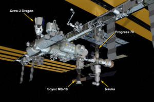 Motory modulu Nauka sa nečakane spustili po pripojení k ISS.