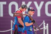 Zuzana Rehák Štefečeková a Erik Varga na OH v Tokiu 2020.