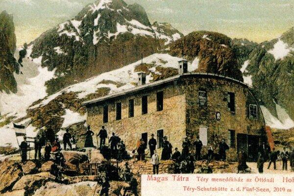 Téryho chata v časoch monarchie