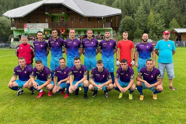 TJ Spartak Radôstka, nováčik V. ligy skupina A.