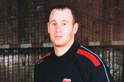 Anton Servátka v reprezentačnom drese počas aktívnej kariéry.