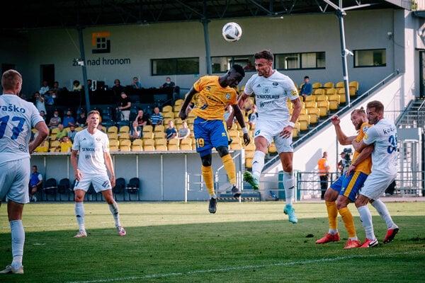 Zo zápasu FK Pohronie vs. MFK Zemplín Michalovce