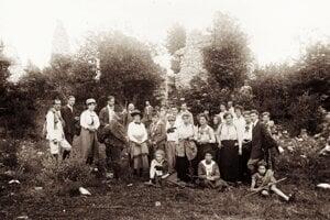 Kláštorisko rok 1920.