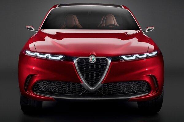 Koncept Alfa Romeo Tonale príde v sériovej podobe v roku 2022.