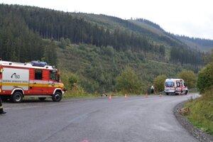25. septembra 2020z tohto miesta spadlo auto, nehodu neprežil 20-ročný mladík.