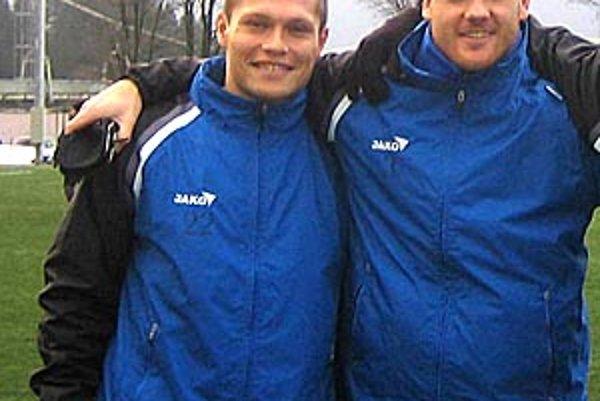 V Šali sú najnovšie Nitrania Róbert Glenda a Michal Áč.
