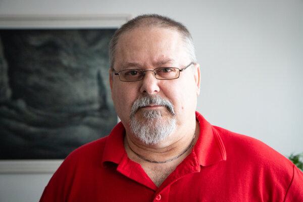 Ján Zuskin, riaditeľ Správy slovenských jaskýň.
