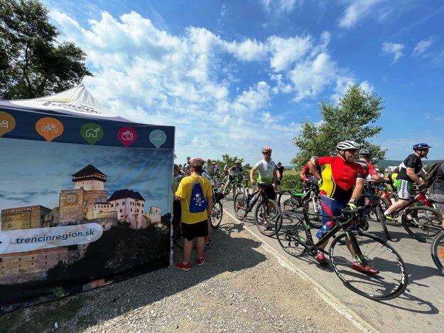 Cyklotrasa v Trenčíne