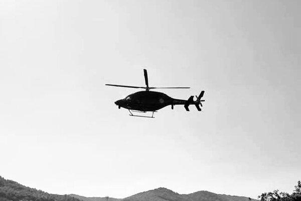 Po mužovi pátrali aj s pomocou vojenského vrtuľníka.