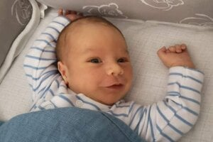 Viliam Laky (3550 g a 49 cm) sa narodil 20. júla mame Natálii Lakyovej a otcovi Valentínovi Kováčovi zo Želiezoviec.