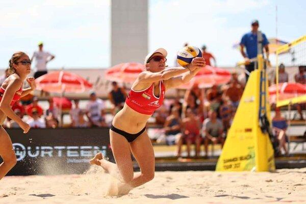 Janka Šimanicová počas turnaja.