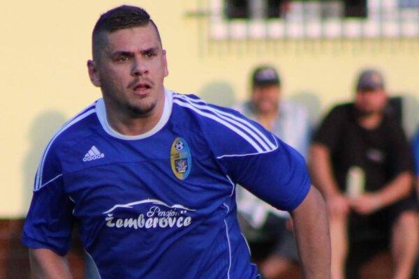 Kanonier OFK Žemberovce Tomáš Vanya